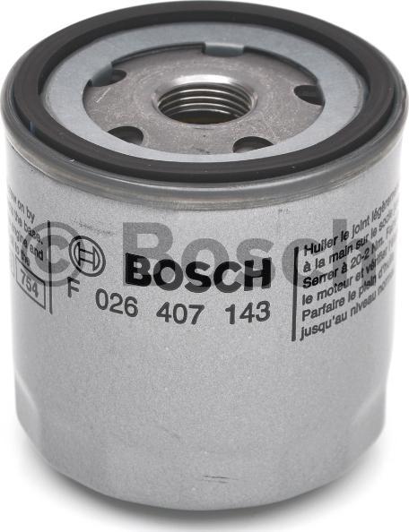 BOSCH F 026 407 143 - Масляний фільтр autocars.com.ua