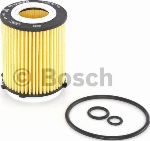 BOSCH F 026 407 166 - Масляний фільтр autocars.com.ua