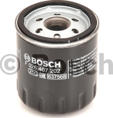 BOSCH F 026 407 202 - Масляний фільтр autocars.com.ua