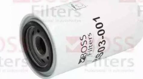 BOSS FILTERS BS03-001 - Масляний фільтр autocars.com.ua