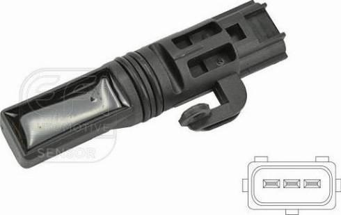 Bougicord 303303 - Датчик частоты вращения, ступенчатая коробка передач car-mod.com