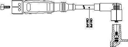 Bremi 111/70 - Провод зажигания autodnr.net