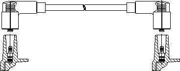 Bremi 11455 - Провод зажигания autodnr.net