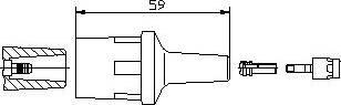 Bremi 13551 - Вилка, катушка зажигания autodnr.net