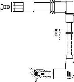 Bremi 1a13e47 - Провод зажигания autodnr.net
