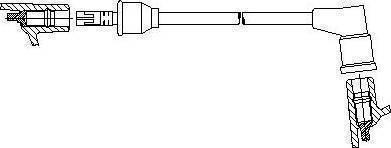 Bremi 31490 - Провод зажигания autodnr.net