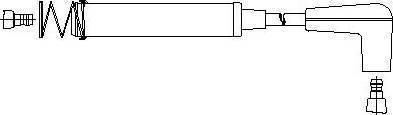Bremi 31960 - Провод зажигания autodnr.net