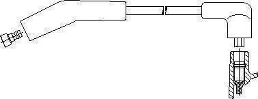 Bremi 43767 - Провод зажигания avtokuzovplus.com.ua