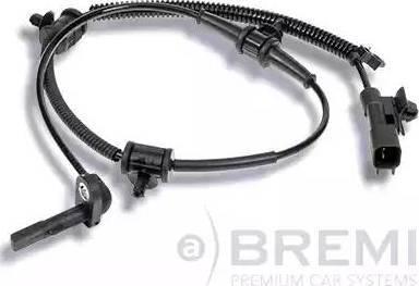 Bremi 50248 - Датчик ABS, частота вращения колеса autodnr.net
