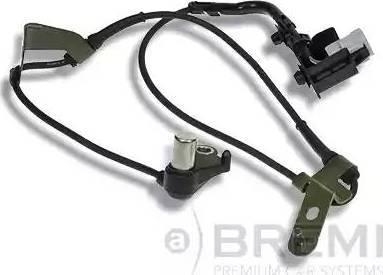 Bremi 50493 - Датчик ABS, частота вращения колеса autodnr.net