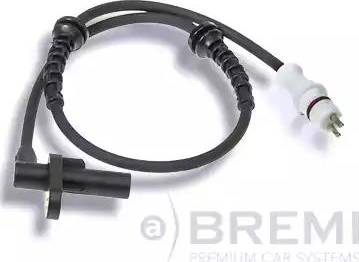 Bremi 50601 - Датчик ABS, частота вращения колеса autodnr.net
