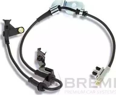 Bremi 51000 - Датчик ABS, частота вращения колеса autodnr.net