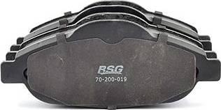 BSG BSG 70-200-019 - Тормозные колодки, дисковые car-mod.com