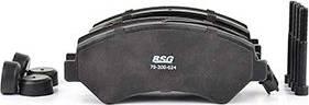BSG BSG 70-200-024 - Тормозные колодки, дисковые car-mod.com