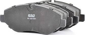 BSG BSG 90-200-001 - Тормозные колодки, дисковые car-mod.com