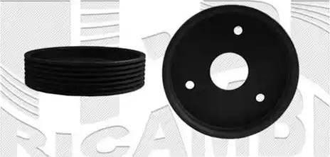 Caliber 87373 - Ремінний шків, колінчастий вал autocars.com.ua