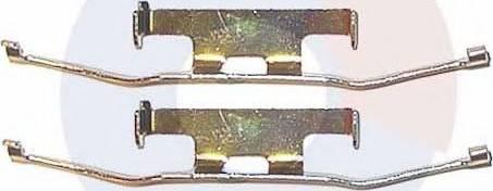 Carrab Brake Parts 2194 - Комплектующие, колодки дискового тормоза autodnr.net