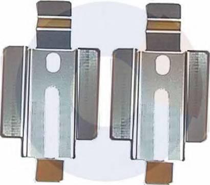 Carrab Brake Parts 2218 - Комплектующие, колодки дискового тормоза autodnr.net