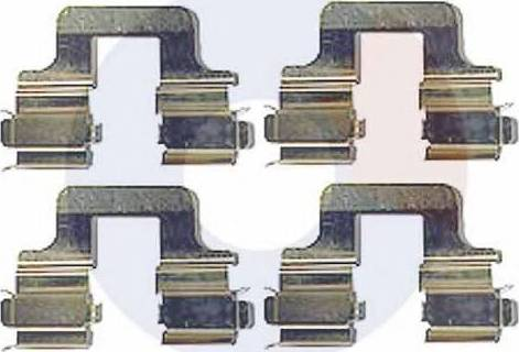 Carrab Brake Parts 2377 - Комплектующие, колодки дискового тормоза autodnr.net