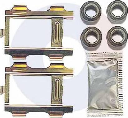 Carrab Brake Parts 2448 - Комплектующие, колодки дискового тормоза autodnr.net