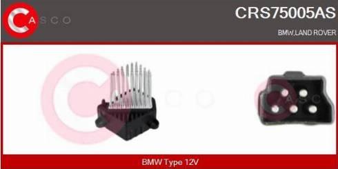 Casco CRS75005AS - Сопротивление, реле, вентилятор салона car-mod.com