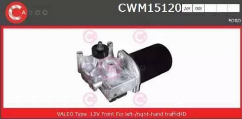 Casco CWM15120AS - Двигатель стеклоочистителя car-mod.com