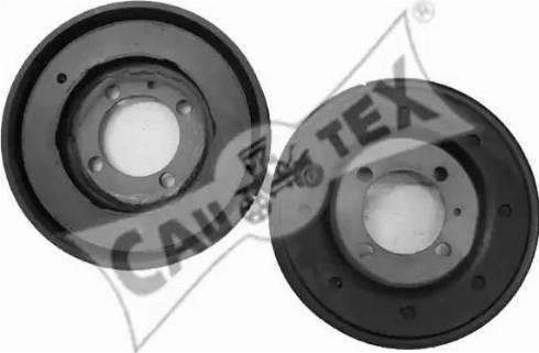 Cautex 480908 - Ремінний шків, колінчастий вал autocars.com.ua