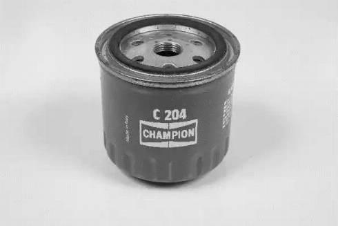 Champion C204/606 - Масляний фільтр autocars.com.ua