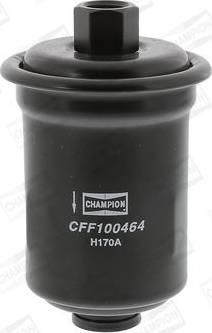 Champion CFF100464 - Паливний фільтр autocars.com.ua