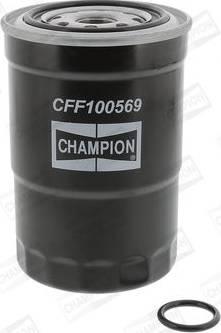 Champion CFF100569 - Паливний фільтр autocars.com.ua