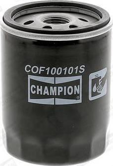 Champion COF100101S - Масляний фільтр autocars.com.ua