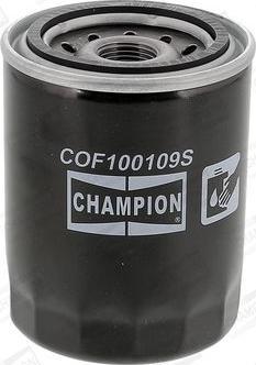 Champion COF100109S - Масляний фільтр autocars.com.ua