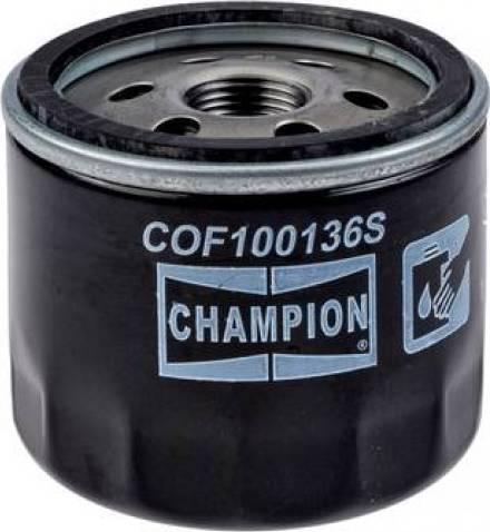 Champion COF100136S - Масляний фільтр autocars.com.ua