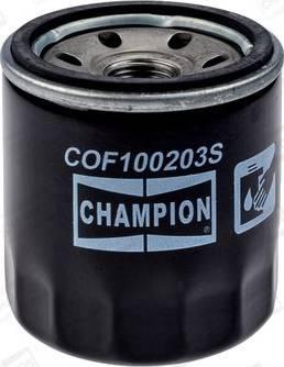Champion COF100203S - Масляный фильтр autodnr.net