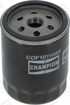Champion COF101105S - Масляний фільтр autocars.com.ua
