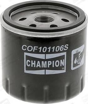 Champion COF101106S - Масляний фільтр autocars.com.ua