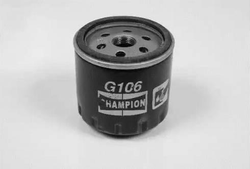 Champion G106/606 - Масляний фільтр autocars.com.ua