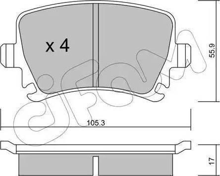 LPR 05P1390 - Тормозные колодки, дисковые car-mod.com