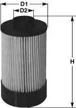 Clean Filters MG1654 - Паливний фільтр autocars.com.ua