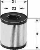Clean Filters ML4522 - Масляний фільтр autocars.com.ua