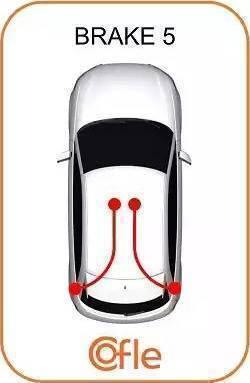 Cofle 104707 - Трос, стояночная тормозная система car-mod.com