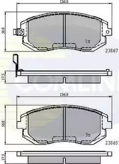 Comline CBP31208 - Тормозные колодки, дисковые car-mod.com