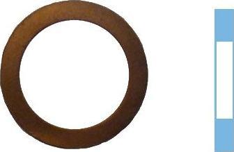Corteco 005519H - Уплотнительное кольцо, резьбовая пробка маслосливного отверстия car-mod.com