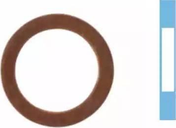 Corteco 005565H - Уплотнительное кольцо, резьбовая пробка маслосливного отверстия car-mod.com