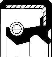 Corteco 01026910b - Уплотнительное кольцо вала, вал выжимного подшипника autodnr.net
