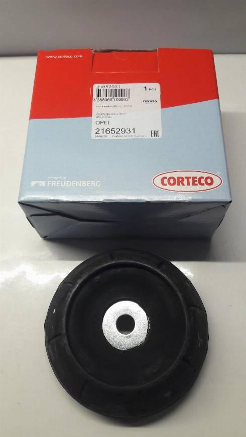 Corteco 21652931 - Опора стойки амортизатора autodnr.net