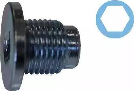 Corteco 407711H - Уплотнительное кольцо, резьбовая пробка маслосливн. отверст. autodnr.net