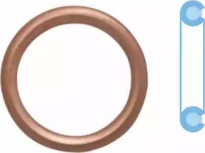 Corteco 402116h - Уплотнительное кольцо, резьбовая пробка маслосливн. отверст. autodnr.net