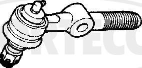 Corteco 49401418 - Наконечник рулевой тяги, шарнир car-mod.com