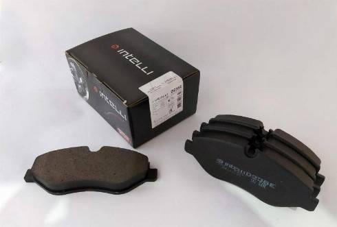 Dafmi D236E - Тормозные колодки, дисковые car-mod.com